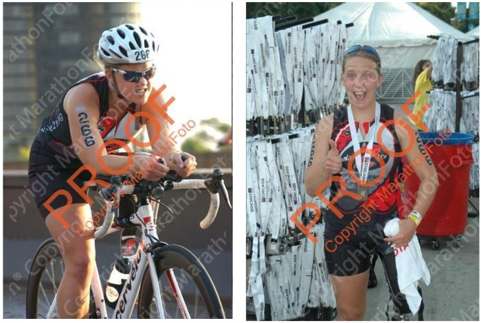 I really enjoy the juxtaposition of these photos, taken merely 40 minutes apart.  Pictures courtesy of MarathonFoto (in the event that the orange copyrights were unclear).