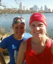 A run with Shawna on Lady Bird Lake